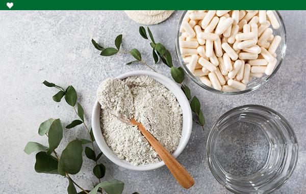 Suplementos y vitamina
