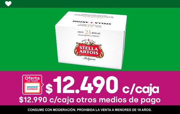 Caja Stella Artois